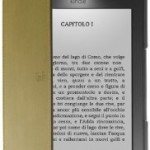 Cover Kindle con luce LED colore verde