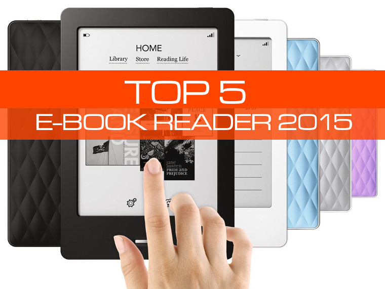 Classifica TOP 5 Ebook reader 2015