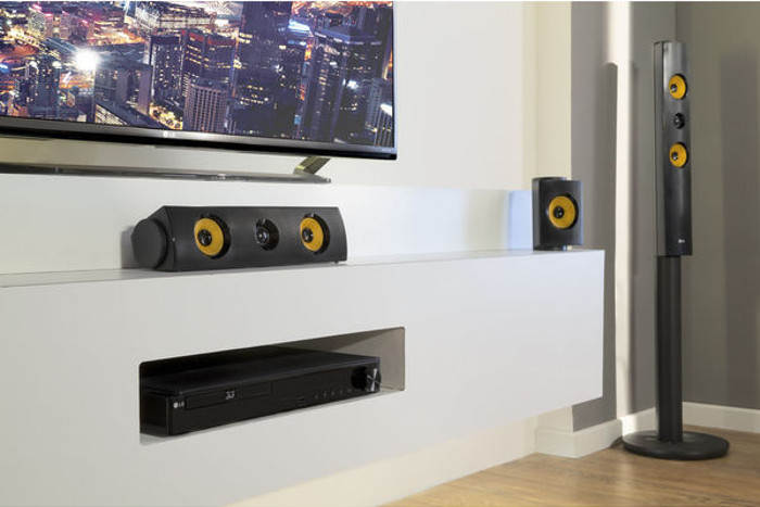 miglior home theater 2017 - LG LHB745