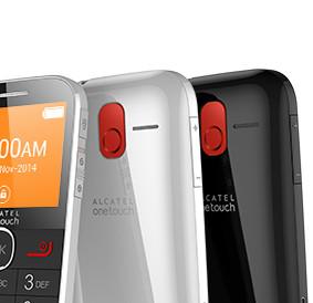 telefonino cellulare per anziani Alcatel 20.04g tasto SOS