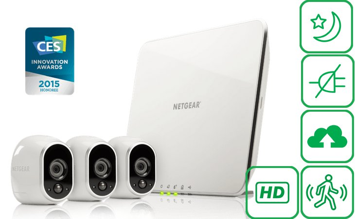 Arlo KIT Netgear per video sorvegliare casa