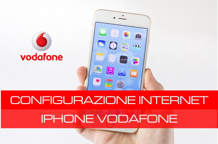 configurazione dati cellulare iphone 6s Plus vodafone