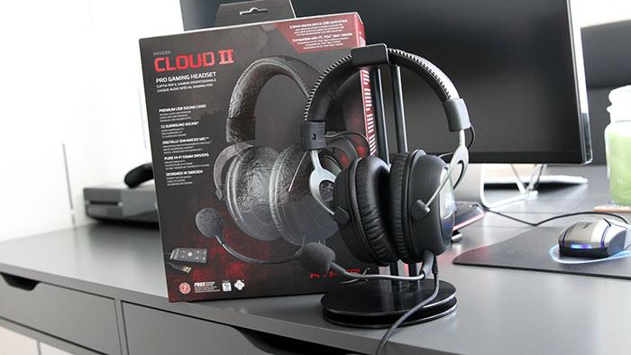 miglior cuffia gaming on ear - HyperX Cloud II