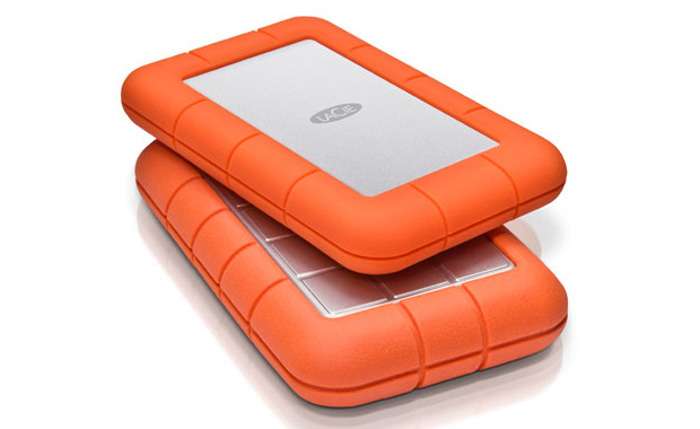 i migliori hard disk usb esterni - lacie rugged mini hd