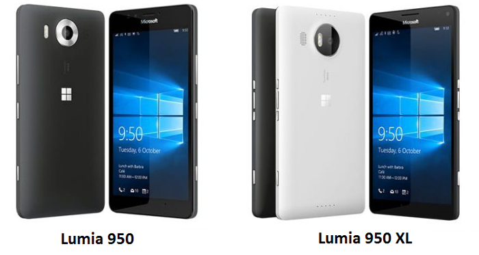 miglior smartphone windows phone - microsoft lumia 950 e 950 xl