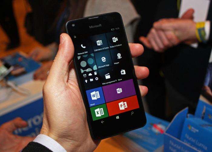 miglior smartphone windows - microsoft lumia 550