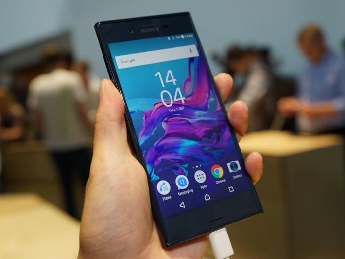 miglior sony smartphone - sony xz