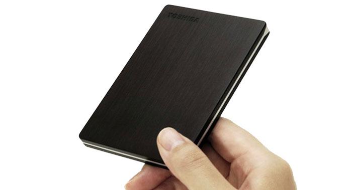 migliori hard disk esterni - toshiba canvio slim