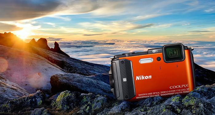 Miglior fotocamera compatta - nikon coolpix aw 130