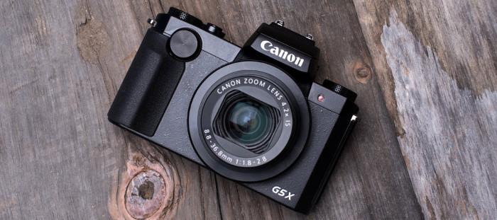 Miglior fotocamera compatta - canon g5 x