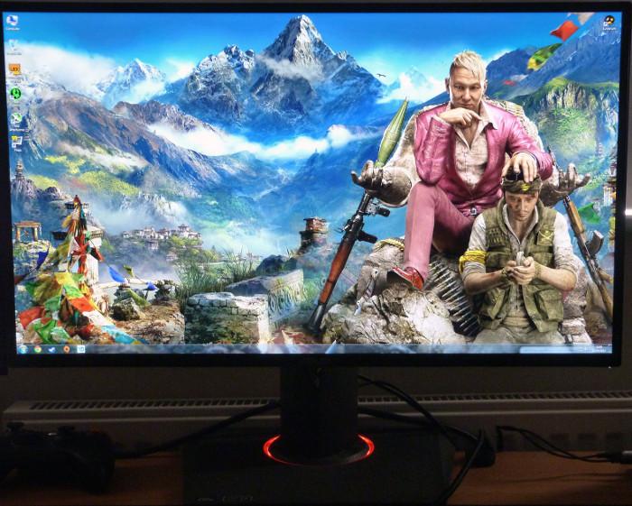 miglior monitor per giocare - asus pg278q