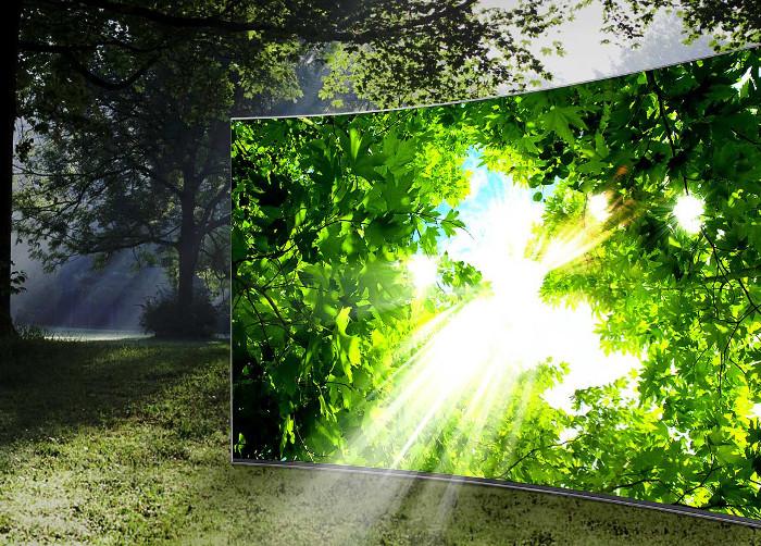 migliori tv gaming - samsung ue55ks9000txzt