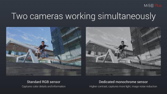 miglior cellulare sual sim - xiaomi mi5s plus fotocamere