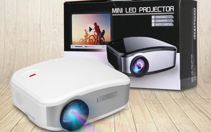 miglior videoproiettore - cheerlux c6 mini
