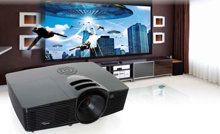 miglior videoproiettore - proiettore optoma hd141x
