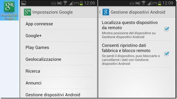 Come ritrovare cellulare Android