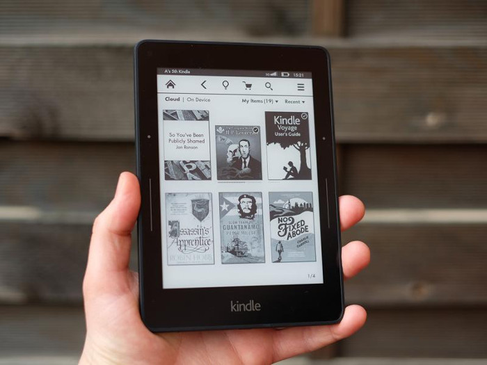 kindle voyager - ebook reader