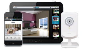 telecamera e tablet