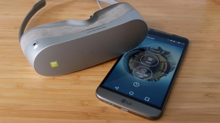 miglior visore vr 2018 - LG 360 VR