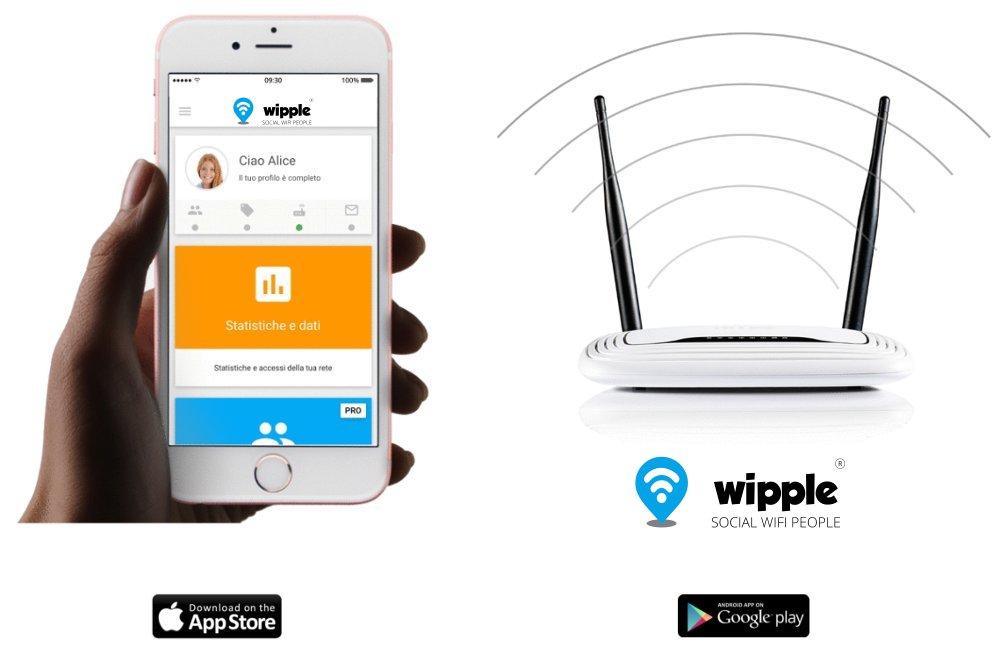 soluzione hotspot wifi