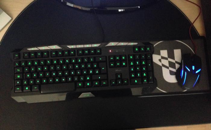 miglior tastiera gaming - Trust GXT 280