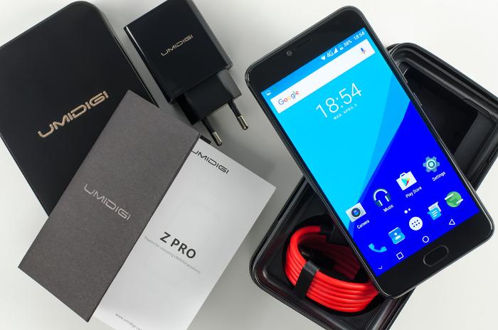 Umidigi Z Pro - Miglior smartphone cinese sul mercato