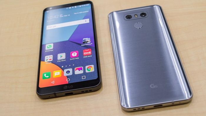 lg g6 - miglior smartphone 400 euro