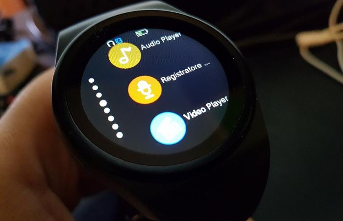AGPtek KW18 - Miglior smartwatch cinese