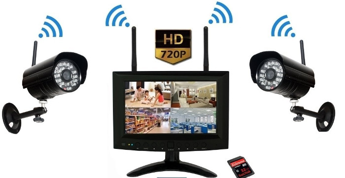 Sistema Completo Mayon - Miglior kit Videosorveglianza Wireless