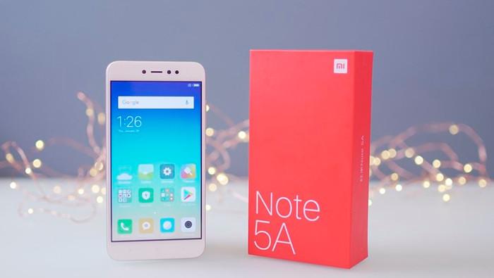 Xiaomi Redmi Note 5A - miglior smartphone 100 euro